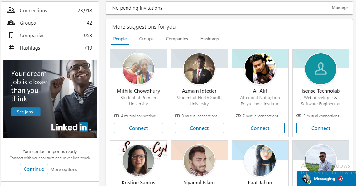 I shall publish your post on my linked(profile Connections: 24K) in profile wall