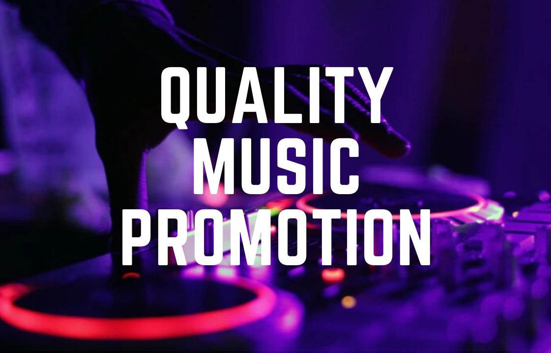 $4 Music promotion for audio track