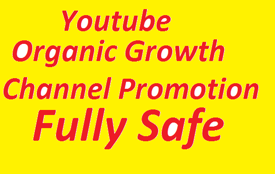 I will do Organic Channel Promotions Growth