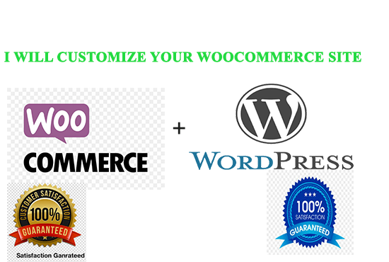 I will customize your wordpress woocommerce site with 30 days free support