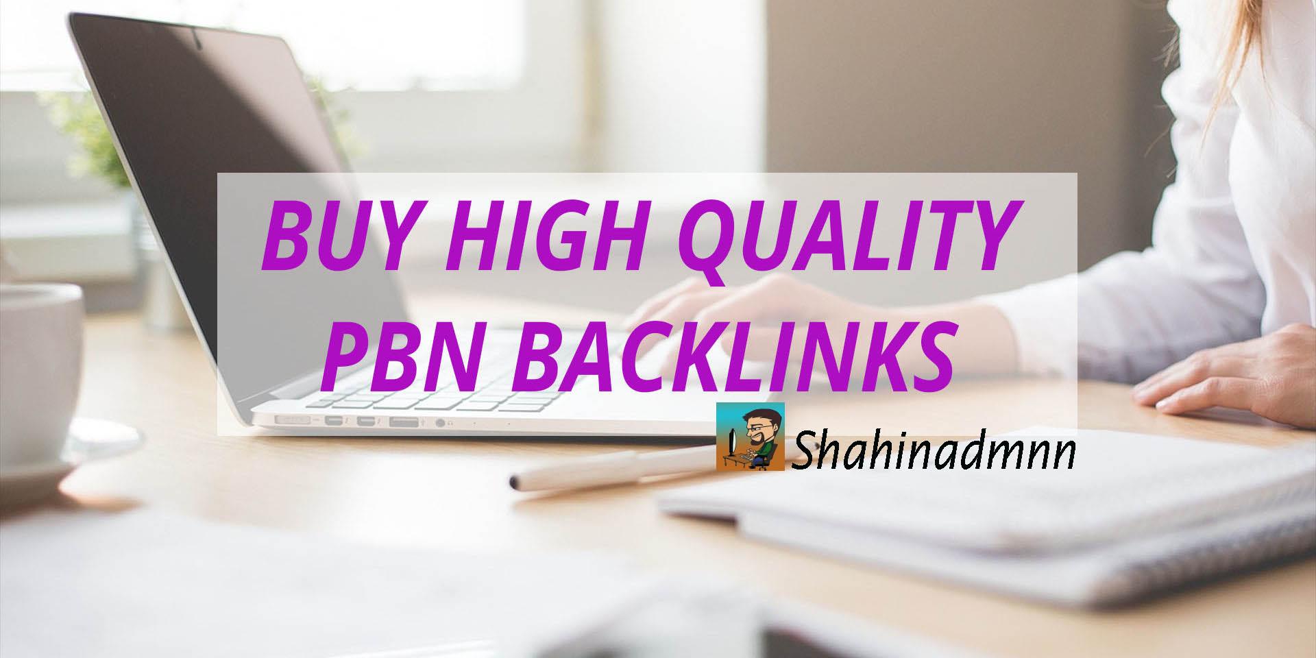 5 Manual High TF CF DA PA Dofollow Homepage PBN Backlinks