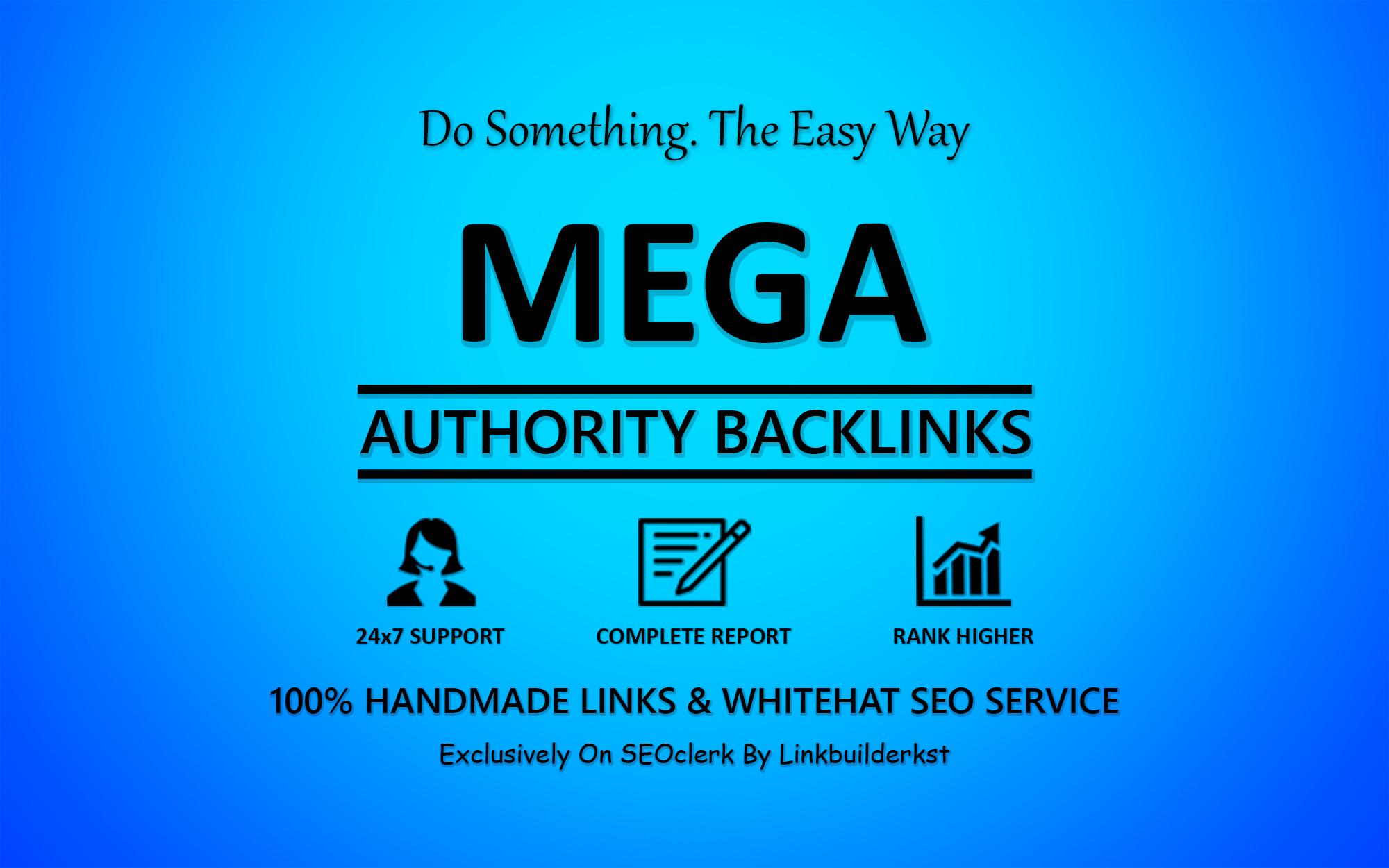 Mega Authority Backlinks - The Ultimate Ranking Solution SEO Service