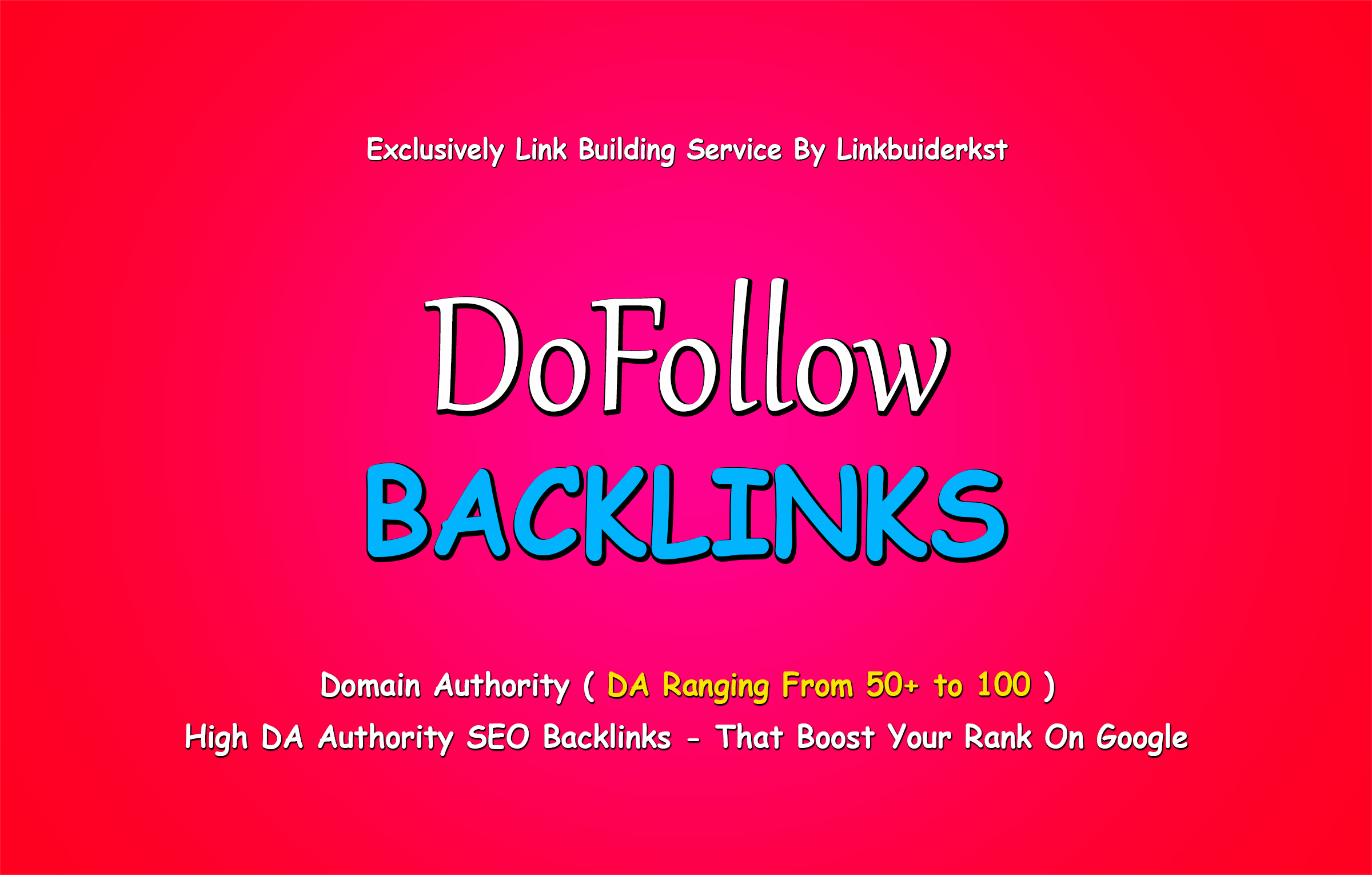 25 Manual High DR Do-Follow Backlinks For Google Ranking