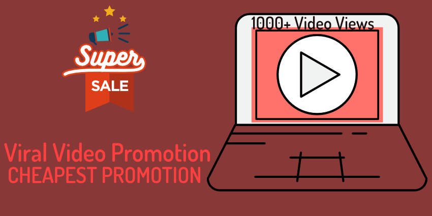 Viral promotion 1000+ non drop high retention Views