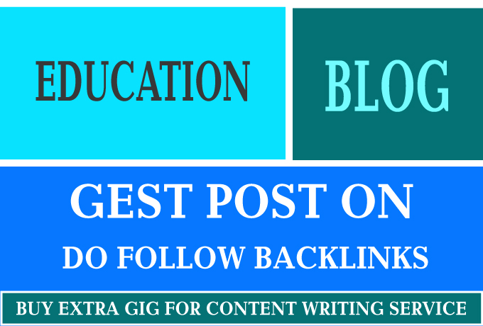 I will guest post on education blog
