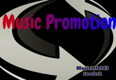 Music Promotion We Post Write To Your Mixtape