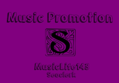 Music Promote To Your Single Song Hits And Downloads