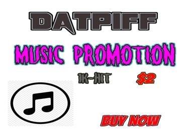 Datpiff 1k Hit Listener Music Promotion