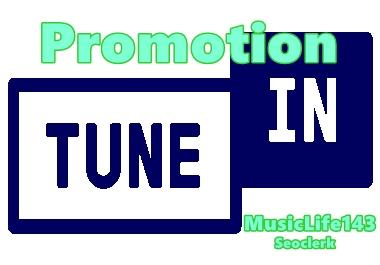 TuneIn Radio Promotion Tune in