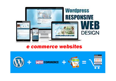 Wordpress 0r E-commerce website design and development