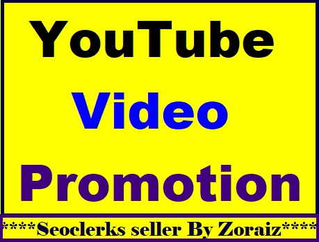 Safe Youtube package promotion & social media marketing