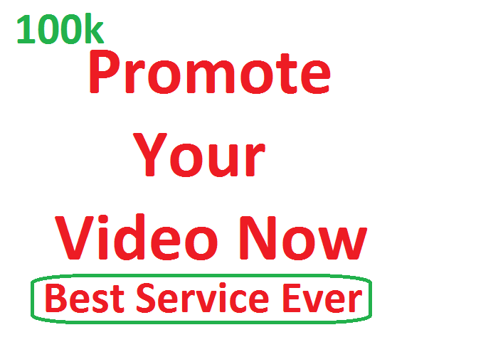 Promote Your Video Now and Get More Visitors