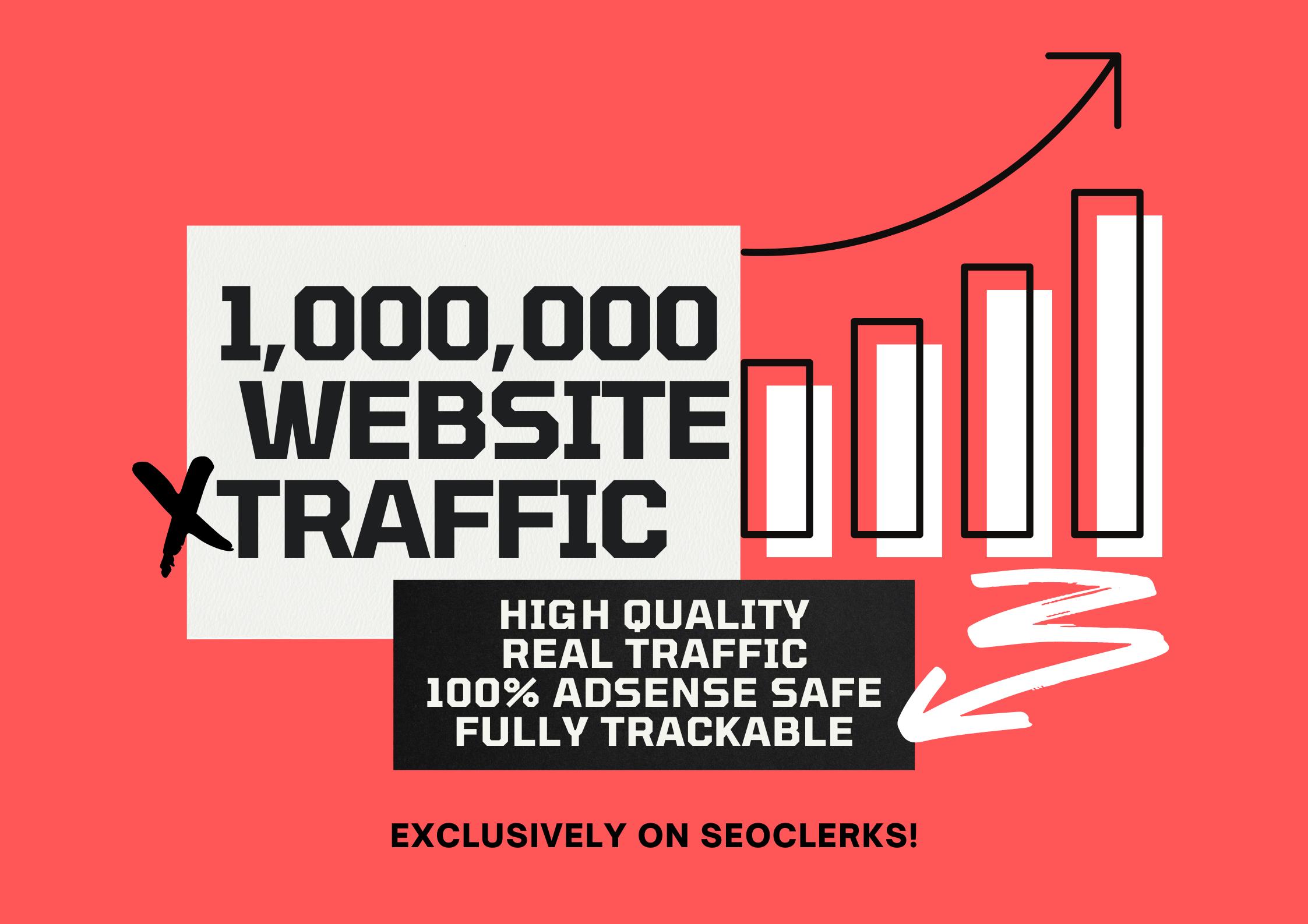 1,000,000+ Keyword Target High Quality Real Human Organic Traffic