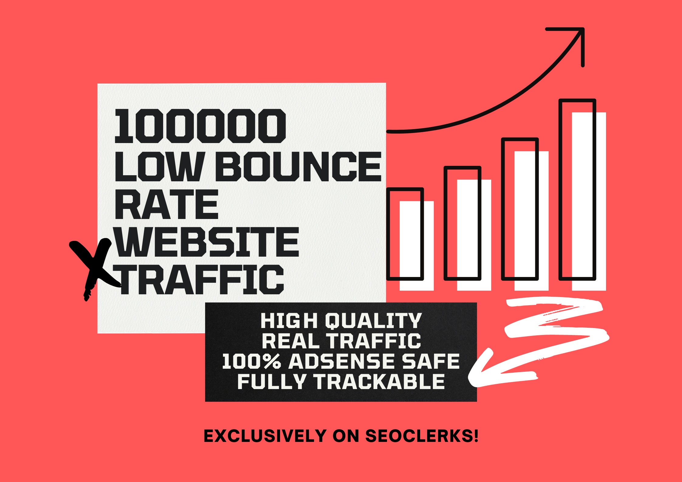 Send 100,000 Low bounce Rate Niche Targeted Organic Traffic