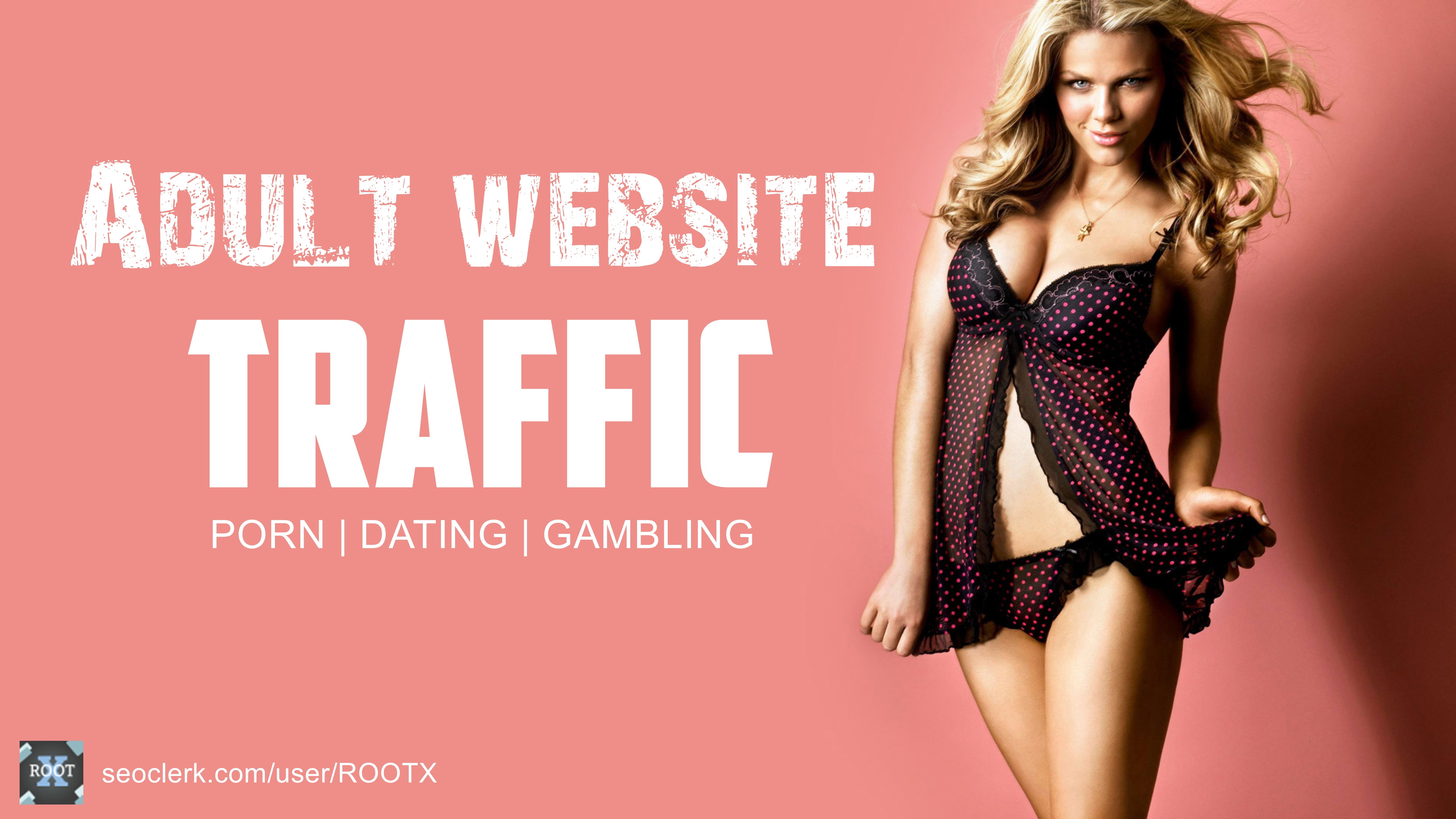 15000 traffic to your porn gambling dating adult website