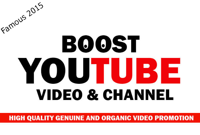 YouTube Video Social Media Boost For You