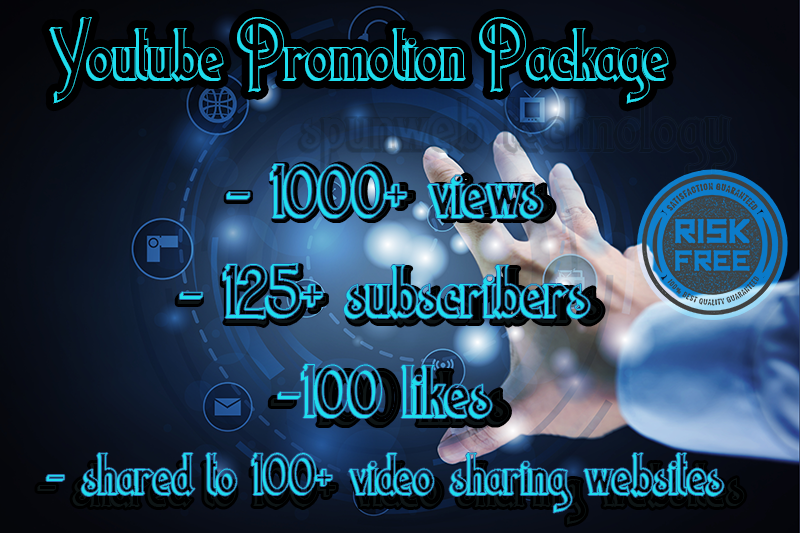 Video Promotion Package - Make your video go viral
