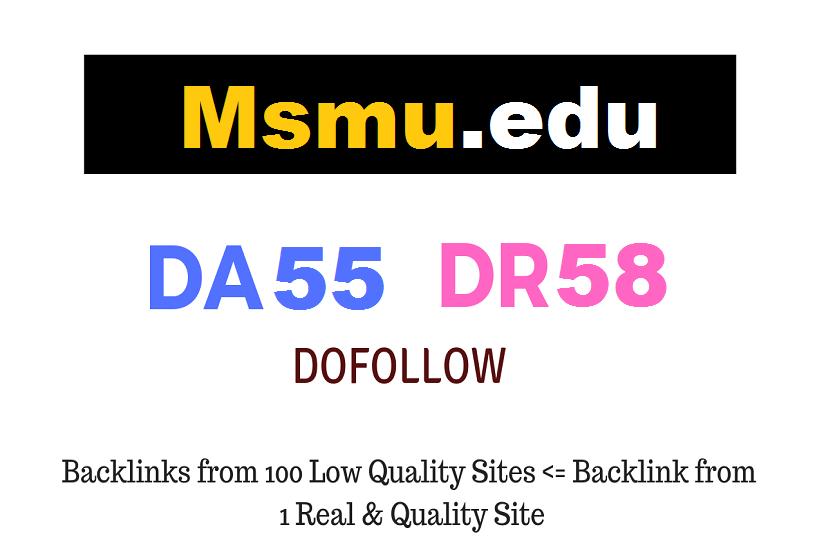 Guest Post on Mount Saint Marys University - Msmu.edu - DA55 DR58