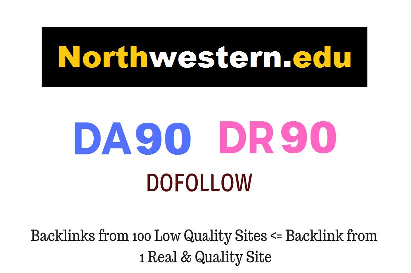 Guest Post on Northwestern.edu - DA90 DR91