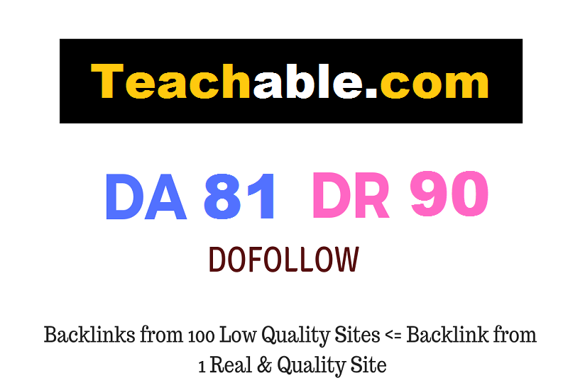 Guest Post on Teachable. com DA81 DR90