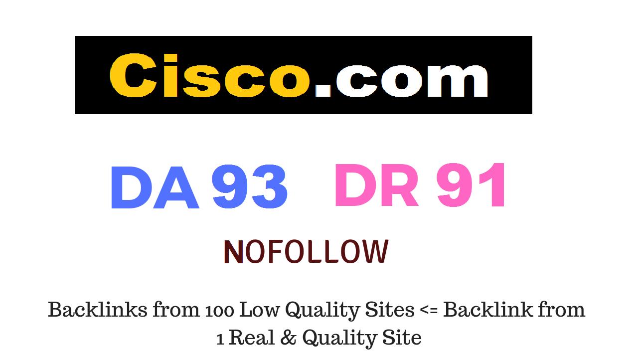 Guest Post on cisco. com DA93 DR91