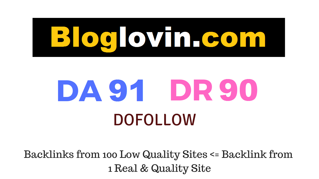 Guest Post on Bloglovin. com DA91 DR90