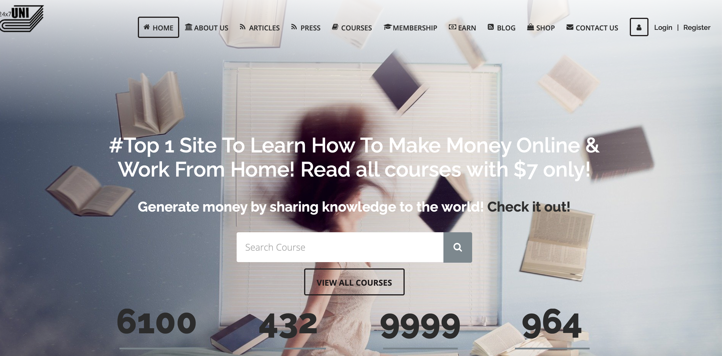 800+ Online Course for 1 year-learn make money online & work from home