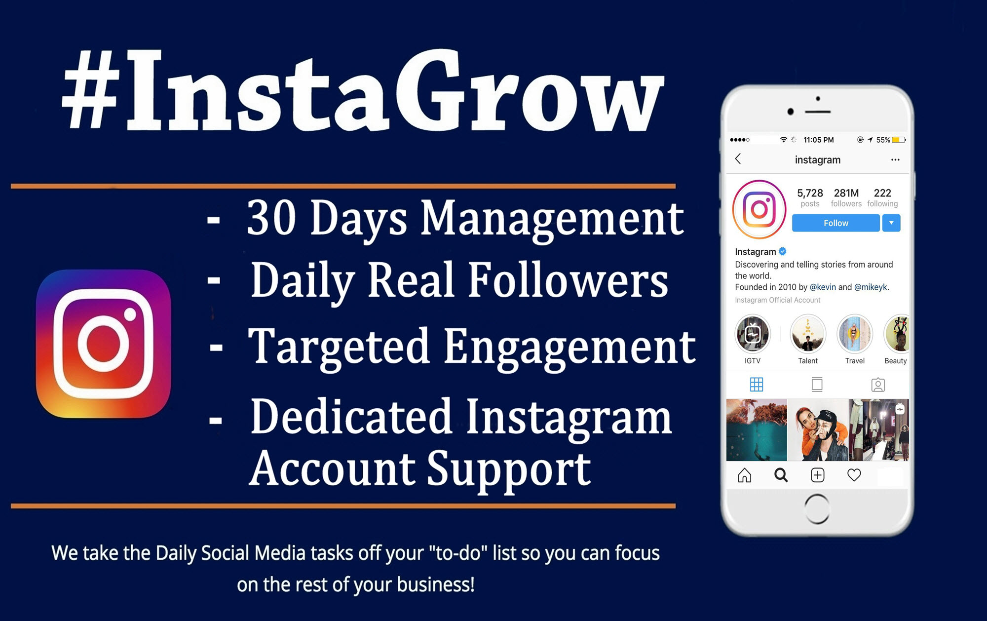 Do Instagram Marketing Management And Grow Your Social Media Promotion Manually