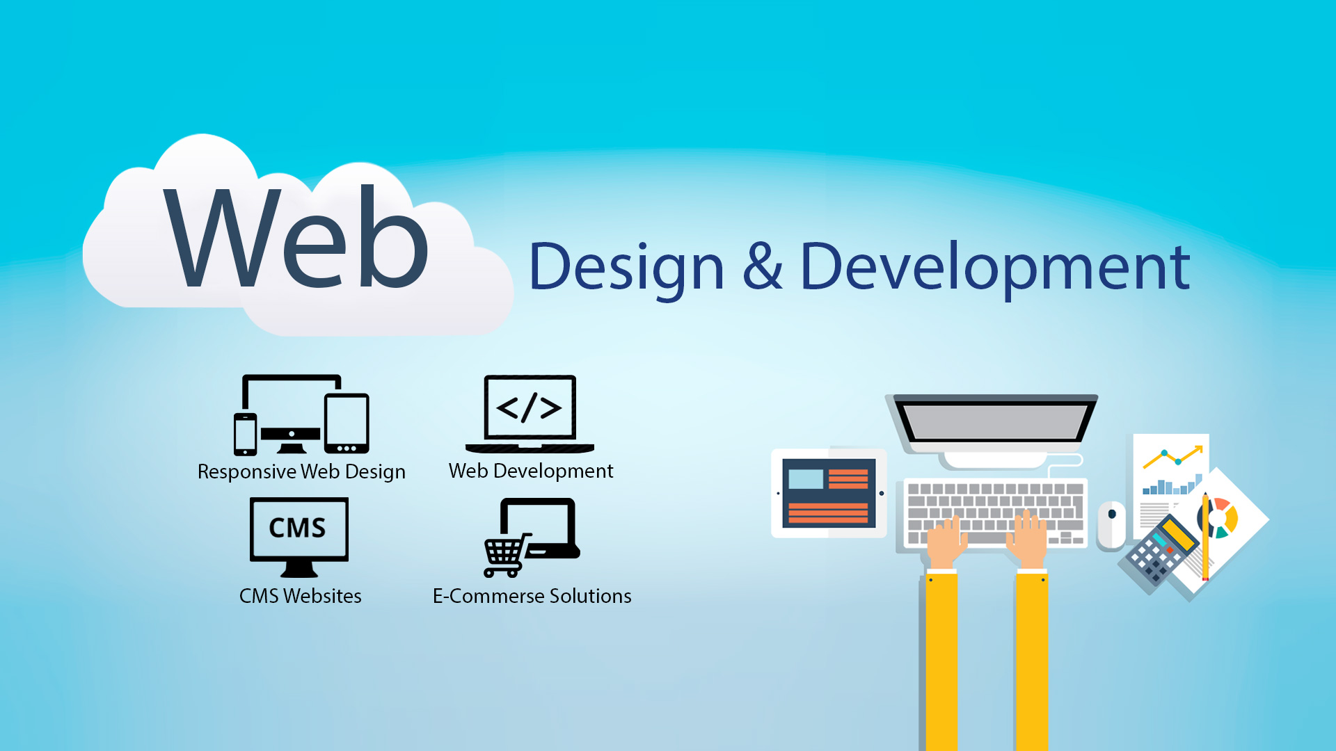 Create your landing page or website