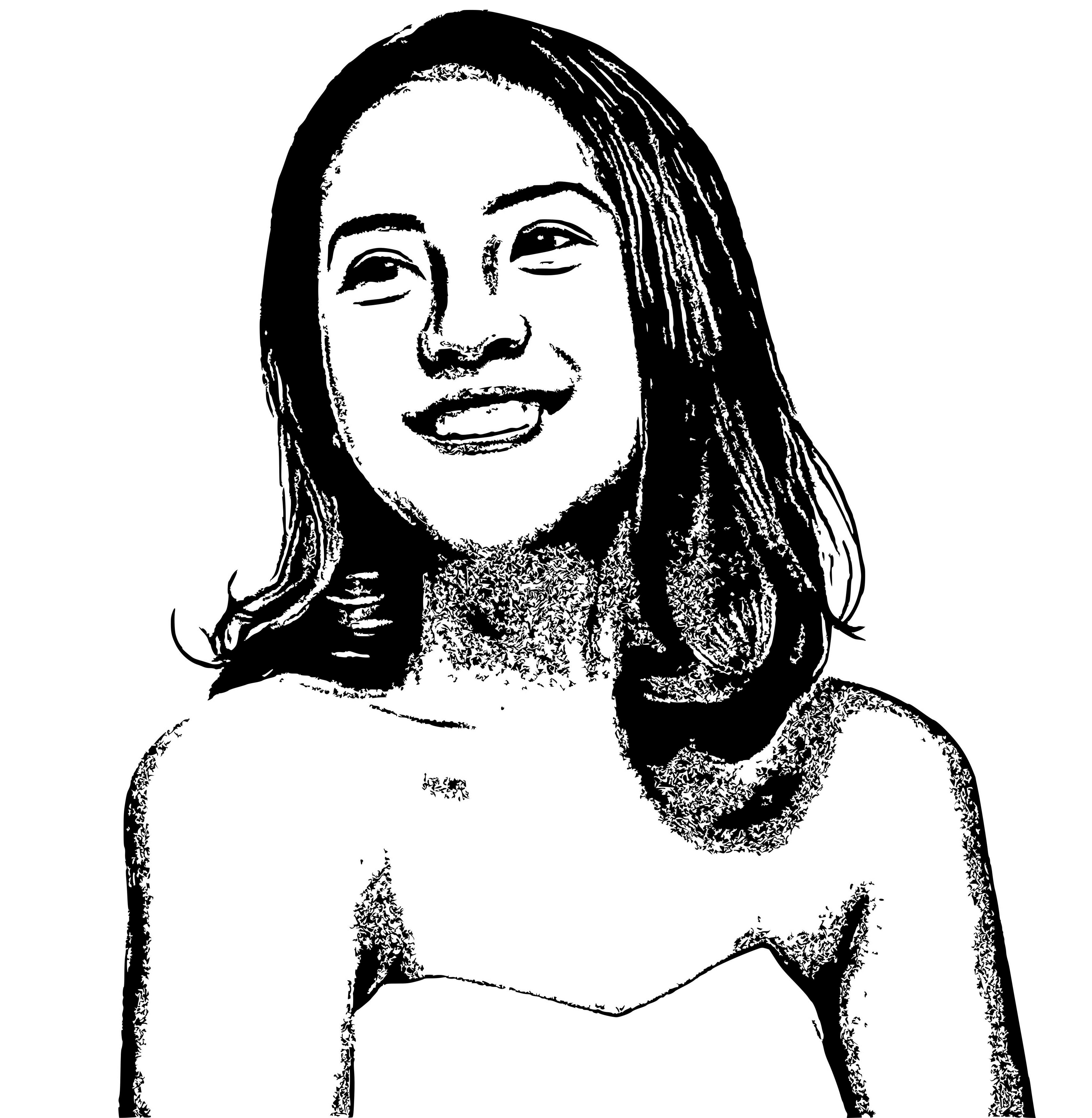 draw 3 your photo to logo blackwhite
