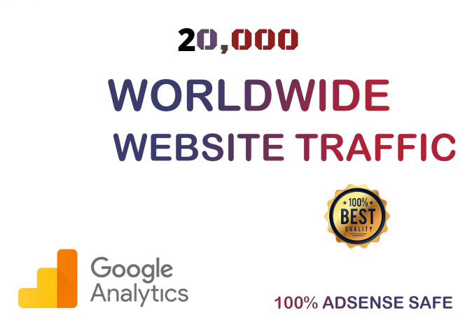20,000 World Wide Visitors to Any Link