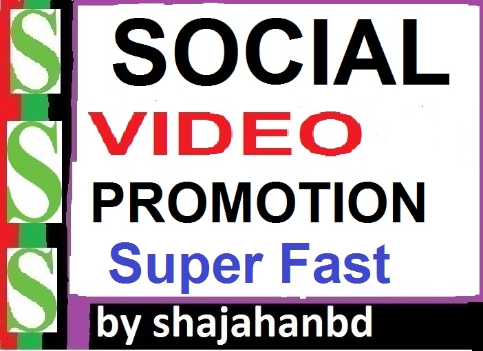 Fast Social VIDEO Promotion High Quality