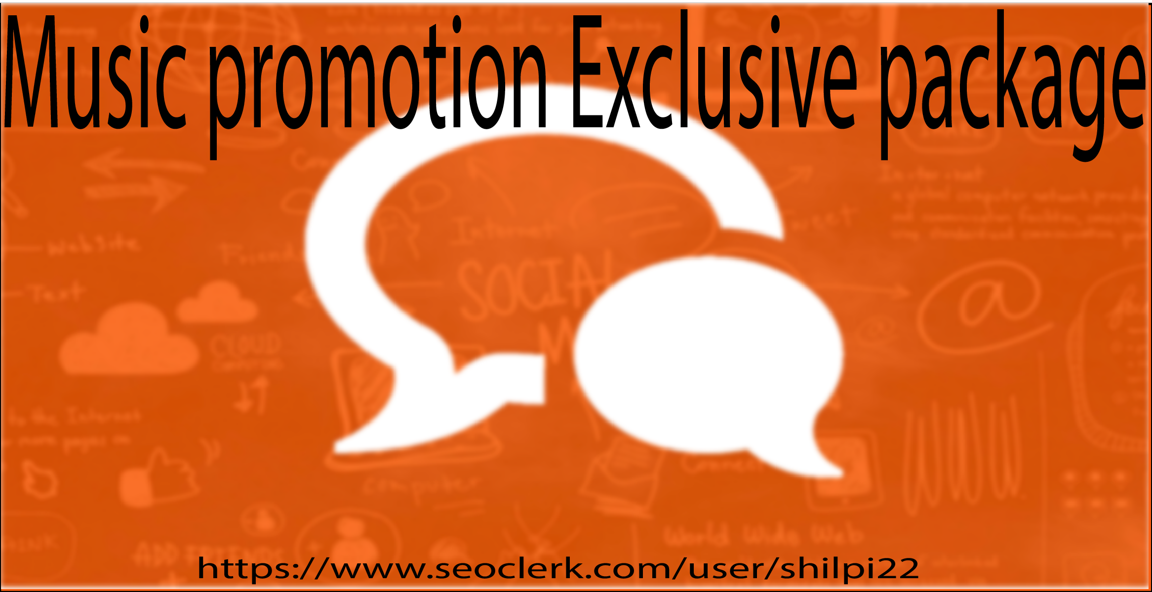 Purchase Exclusive Music Promotion package