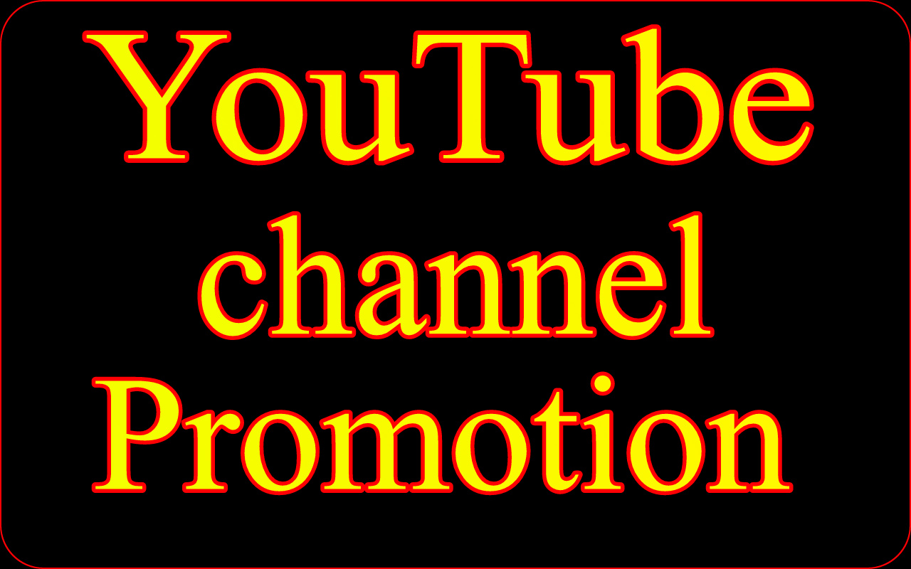 YouTube Account People Promotion Marketing