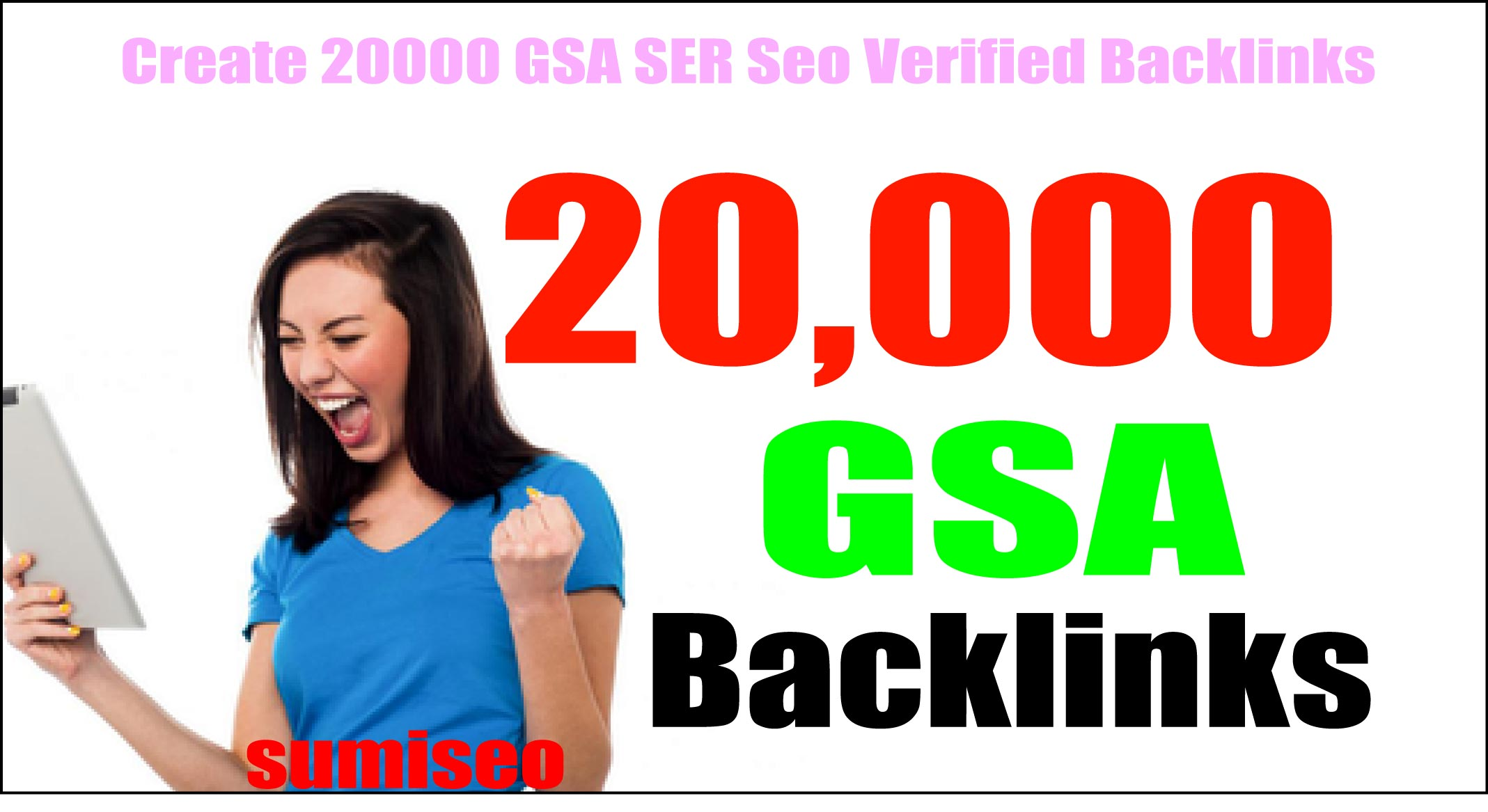 create verified 20,000 GSA backlinks for your site booster for higher rank