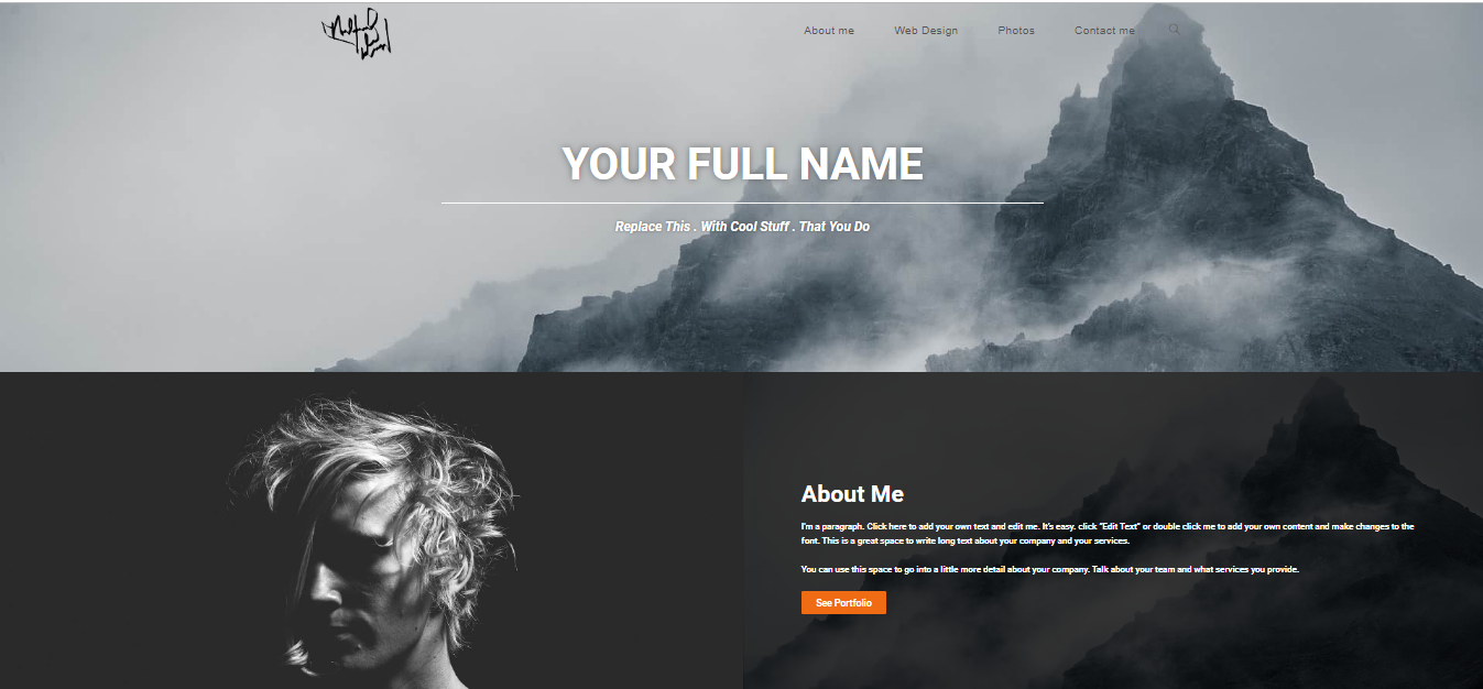 I will create a wordpress personal,  resume or portfolio website