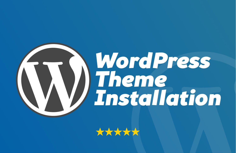 install and setup wordpress theme exactly as demo