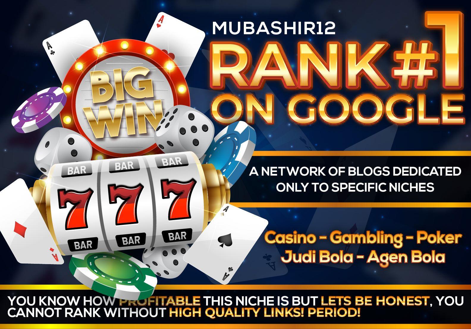 GET - Rank No 1 Casino Gambling Poker Slot Betting Sites 1200 SEO Backlinks Guaranteed in 2021