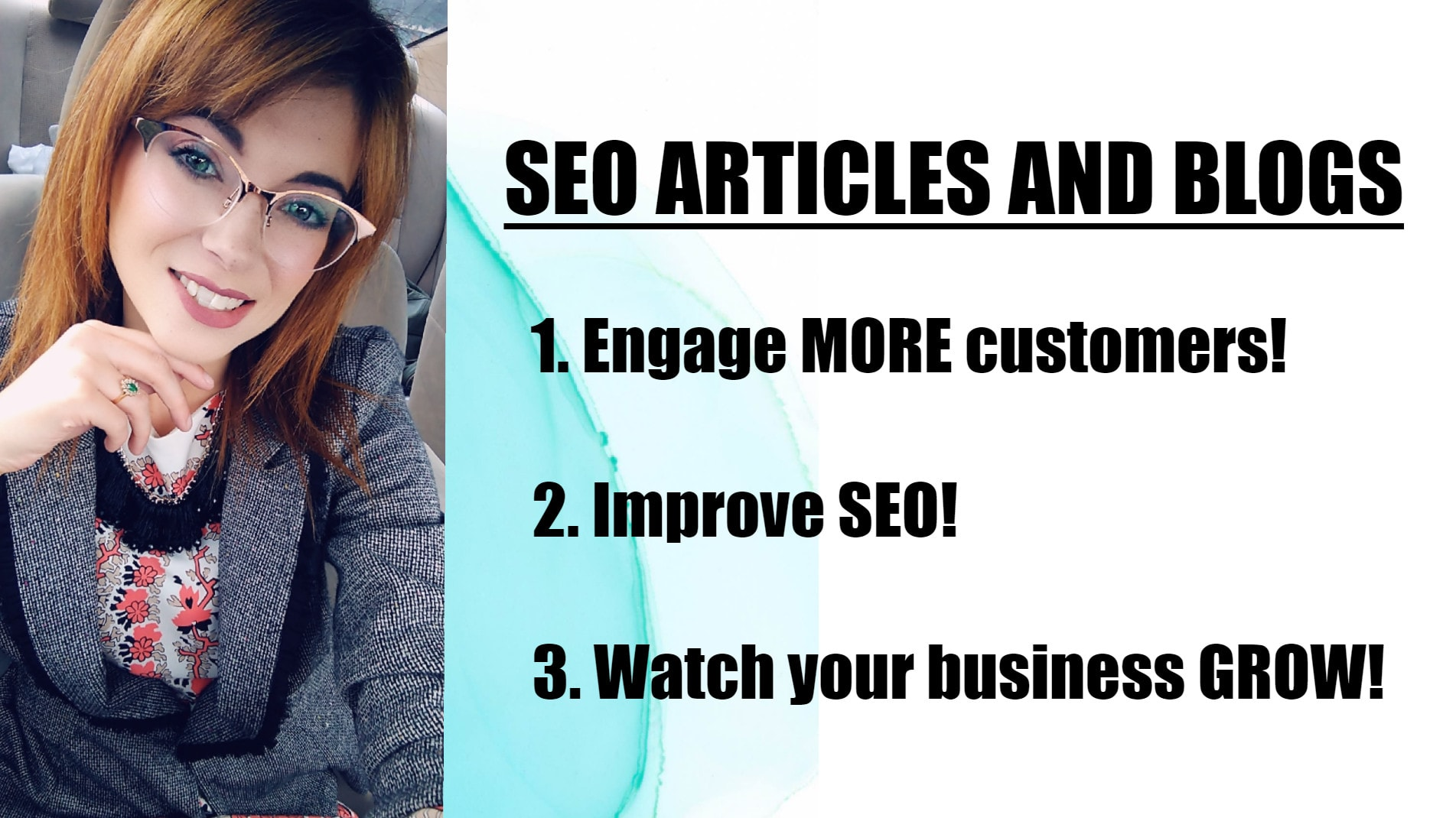 I will write engaging SEO articles and blog posts