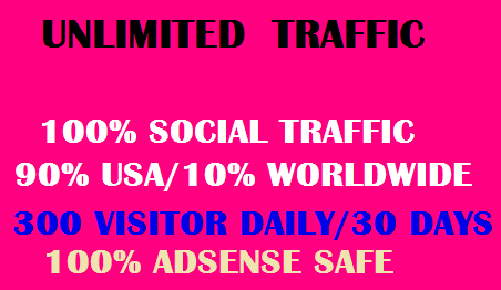 USA target Drive Traffic To Your Website full month