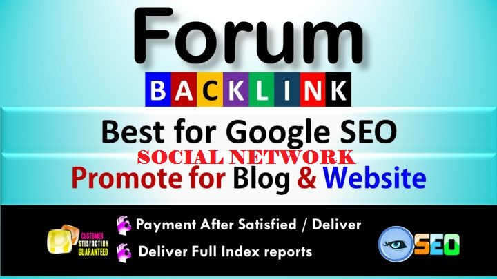 2000 FORUM AND SOCIAL NETWORK PROFILES BACK LINKS