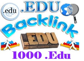 I will Get you 1000. EDU High Authority Backlink