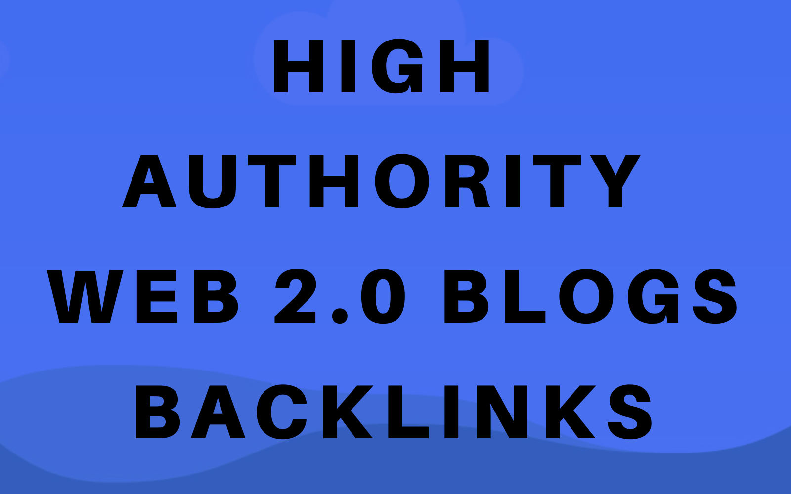 40 High Authority Web 2.0 Blogs Backlinks Boost Google Ranks
