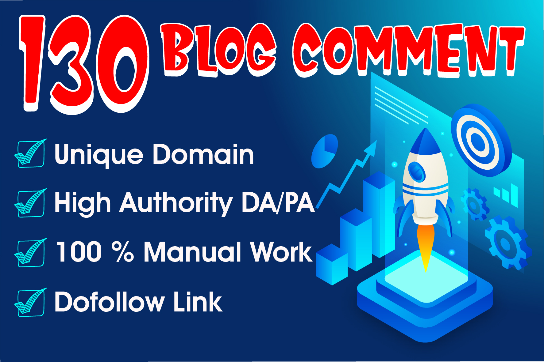 Do 130 blog comment high da 40plus