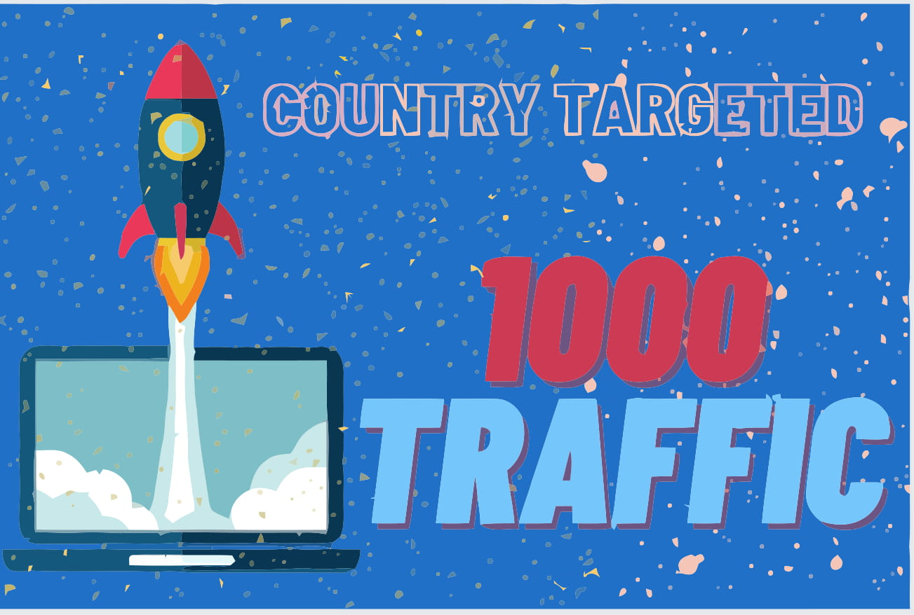 1000 country targeted Web Traffic - any country