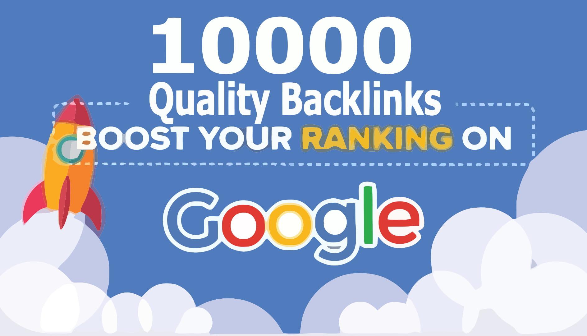 10K Profile, Blog, Social, Trackback and Ping MIx backlinks