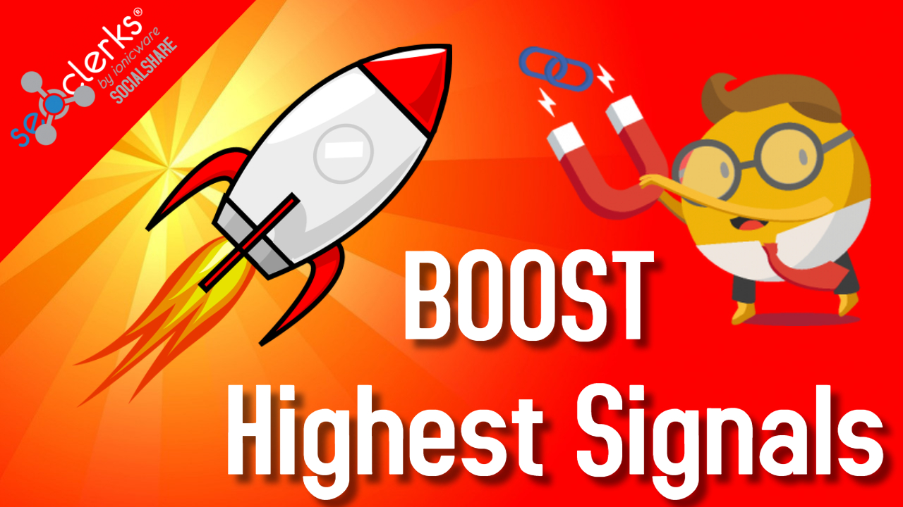 1,000 PR10 Social Signals Backlinks / Bookmark / Help For Google First Page Ranking