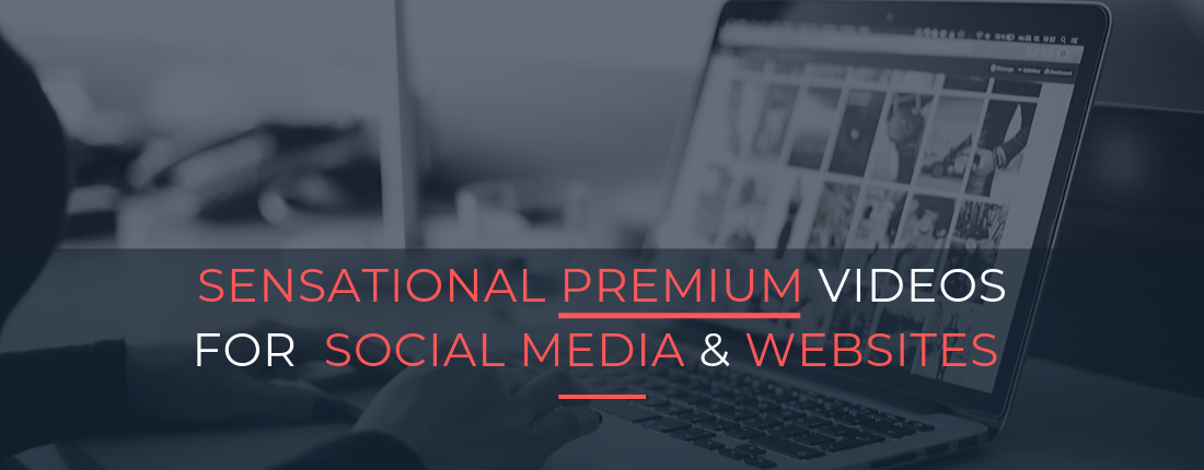 Buy Engaging,  Sensational,  Premium Videos For Social Media,  Websites & Ads