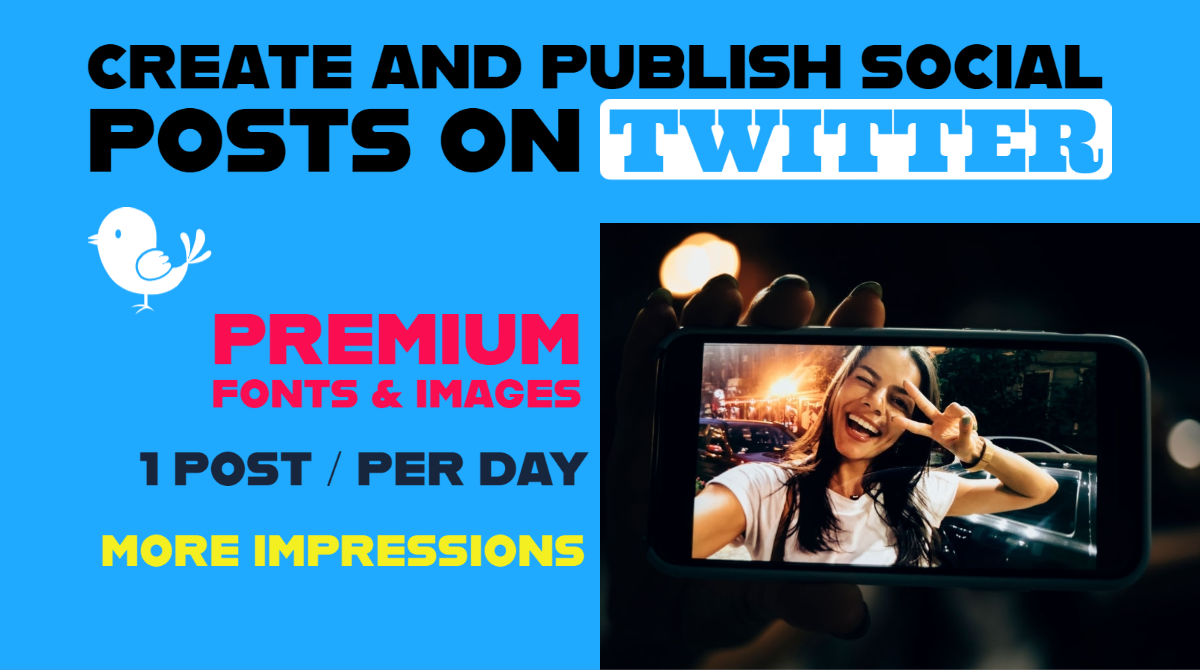 Creating Social Posts and Publishing on Twitter