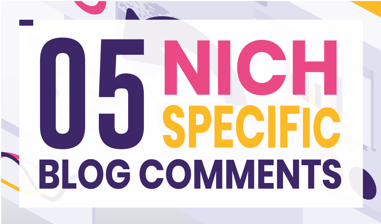 I will provide 05 High DA 30+ Niche Backlinks human generated